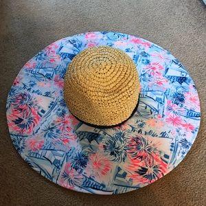 Lily Pulitzer beach hat